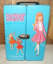 Vintage Blue Skipper Mattel Carrying Case