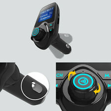 Bluetooth V3.0 FM Transmitter MP3 LCD Hands Free Car Kit Radio Charger