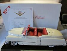 Danbury Mint 1953 Cadillac Eldorado with Box, Stand and Certificate