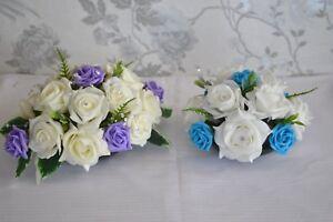 Wedding top table arrangement decoration centrepiece flowers LOTS OF COLOURS