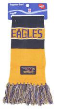 West Coast Eagles AFL Football Bar Scarf 150cm X 20cm