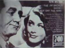 RARE DVD SET = HOT OFF THE WIRE (Jim Backus Show) 1960 w/case & artwork