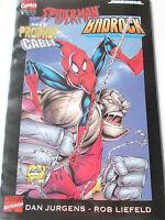 MARVEL EXTREME Spider-Man / Badrock / Cable Neuwertig