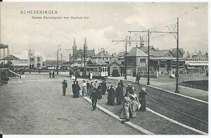 SCHEVENINGEN - Gevers Deynootplein met Kurhaus bar  - Postcard - Cartolina
