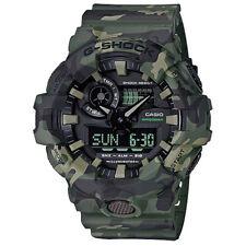 G-Shock By Casio Men's GA700CM-3A Watch Camo Green Casio Water Resistant Sports