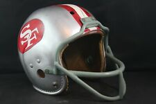Vtg 60s Wilson Rawlings San Francisco 49ers Bob St. Clair Style Football Helmet