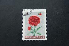 Bulgarien, Dahlie (postfrisch mit Stempel)