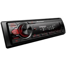 Pioneer Bluetooth Receiver Car Din Single Dash Stereo Audio Am Fm Mvh Radio