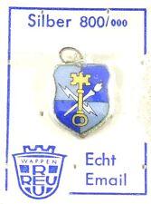 Bettelarmband Anhänger Wappen GEHEIMDIENST VIGILANT ALWAYS ♥ Charm Antik 923B