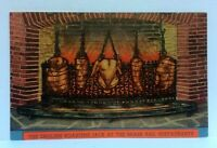 New York City NY The Brass Rail 7th Avenue English Roasting Vintage Postcard