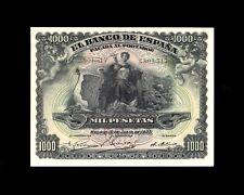 F.C. 1000 PESETAS JULIO 1907 , EBC+ ,UN POCO DESCENTRADO .