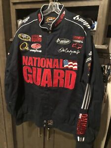 Dale Earnhardt Jr 88 National Guard/ Amp Twill Jacket Size 3XL Brand New With