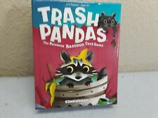 Trash Pandas The Raucous Raccoon Card Game, pre-owned, complete