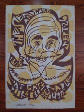 The Sea and Cake 2007 Cat's Cradle North Carolina Poster by Zeloot