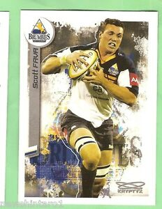 2003  RUGBY UNION CARD #30  SCOTT FAVA, ACT BRUMBIES
