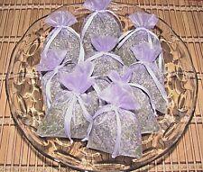 10 Fragrant French Lavender Organza Sachets Weddings Facials Dryers