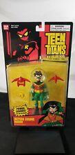 "Teen Titans: Action Sound Robin - 5"" Action Figure - Bandai 2004"