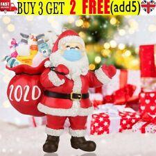 2020 Christmas Ornament Santa With Face Mask Decoration Xmas Tree Handing Decors
