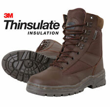 Combat Boots Synthetic Leather Shoes for Men