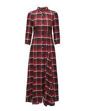 Denim & Supply Ralph Lauren Womens XS Button Down Warwick Plaid Shirt Maxi Dress