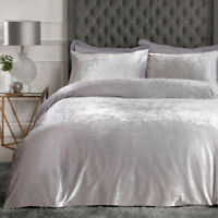 Sleepdown Crushed Velvet Bedding Set  |  Bedding Sets & Pillow Case's