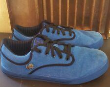 Vlado Footwear Men's Shoes 11.5 Royal Blue & Black Sneaker Low Top
