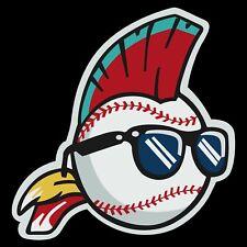 Cleveland Indians Wild Thing vinyl STICKER! Major League Fridge Baseball MLB