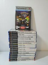 PS2 PAL 16 Game Lot - Ratchet and Clank 3 - Sniper Elite - Mace Griffin & More!