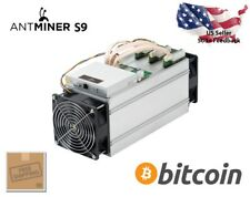 New Bitmain Antminer S9 14TH/s Bitcoin Miner With PSU Ships Free April 21-30
