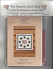 United We Stand Quilt Wall Hanging Pattern Booklet Patriotic Americana MH Design