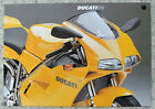 DUCATI 916 MOTORCYCLE Sales Specification Leaflet c1995 #DO152