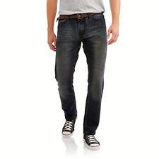 Swiss Cross Men's Belted Skinny Jean 32X32 New 2.99 Shipping