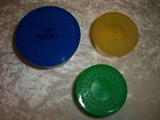 3 small insect/invertebrate pots