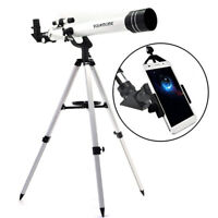 """Visionking 700X60 1.25"""" Astronomical Telescope  & Smart Phone Adapter Photograph"""