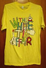 WHITE TIE AFFAIR electronica candle T shirt small Chicago pop-rock Chris Wallace