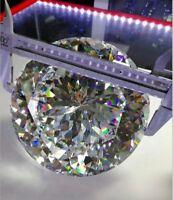 15~100mm Round White AAAAA loose cz stone cubic zirconia gemstone Big Size
