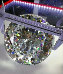 15~120mm Round White AAAAA loose cz stone cubic zirconia gemstone Big Size
