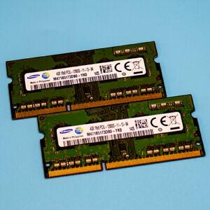 8GB Samsung Arbeitsspeicher 2 x 4GB  1Rx8  PC3L  12800S-11-13-B4.
