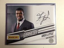 GREG LITTLE Signed Panini Rookie 8x10 Browns Authentic AUTOGRAPH COA N14