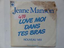 JEANE MANSON Love moi dans tes bras PRO 324 PROMO