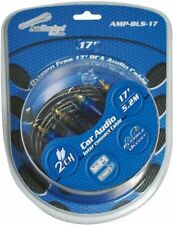 Audiopipe AMPBLS17 Oxygen Free Rca Audio Cable 17 Ft