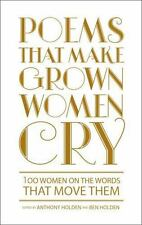 Poems That Make Grown Women Cry New Hardcover Dust Jacket $22.99 On Amazon CHEAP