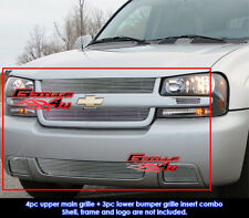 Fits Chevy Trailblazer SS Aluminum Grille Combo 06-09