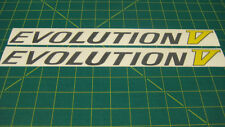 Mitsubishi Lancer Evolution V 5 Gráficos Adhesivos Gráficos Reparación Recambio