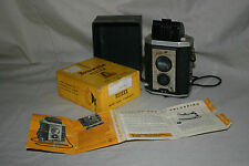 Kodak Brownie Reflex TLR style 127 film box camera, vintage photography prop