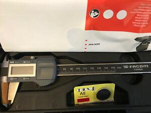 Facom Tools Digital Caliper Vernier Gauge Metric Imperial 150mm Length