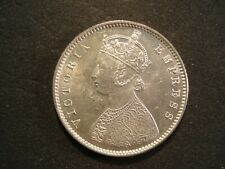 1899-B  India British  1/2 Rupee  Brilliant Unc.