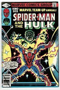 Marvel Team Up Annual Spider-Man The Hulk - No 2 - 1979 HIGH GRADE!