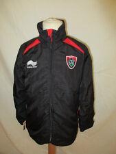 veste de survêtement de rugby du RCT Toulon vintage Noir Taille 10 ans