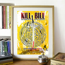 Unofficial Movie Art Poster Kill Bill Tarantino Thurman Afisha Film Pop Decor